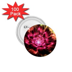 Red Peony 1 75  Buttons (100 Pack)  by Delasel