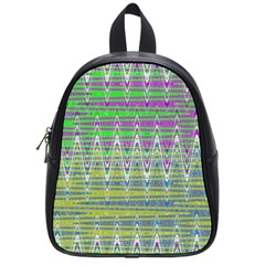 Colorful Zigzag Pattern School Bags (small)  by BrightVibesDesign
