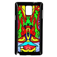 REFLECTION Samsung Galaxy Note 4 Case (Black) by MRTACPANS