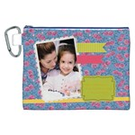 mothers day - Canvas Cosmetic Bag (XXL)