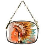 Native American Young Indian Shief Chain Purses (One Side)