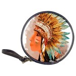 Native American Young Indian Shief Classic 20-CD Wallets