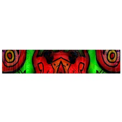 Faces Flano Scarf (small) by MRTACPANS