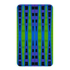 Blue Green Geometric Memory Card Reader by BrightVibesDesign