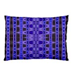 Blue Black Geometric Pattern Pillow Case