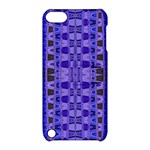 Blue Black Geometric Pattern Apple iPod Touch 5 Hardshell Case with Stand