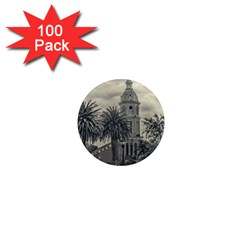 San Luis Church Otavalo Ecuador 1  Mini Magnets (100 Pack)  by dflcprints
