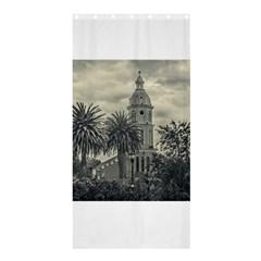 San Luis Church Otavalo Ecuador Shower Curtain 36  X 72  (stall)  by dflcprints
