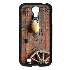 Oriental Wooden Rustic Door  Samsung Galaxy S4 I9500/ I9505 Case (black) by TastefulDesigns