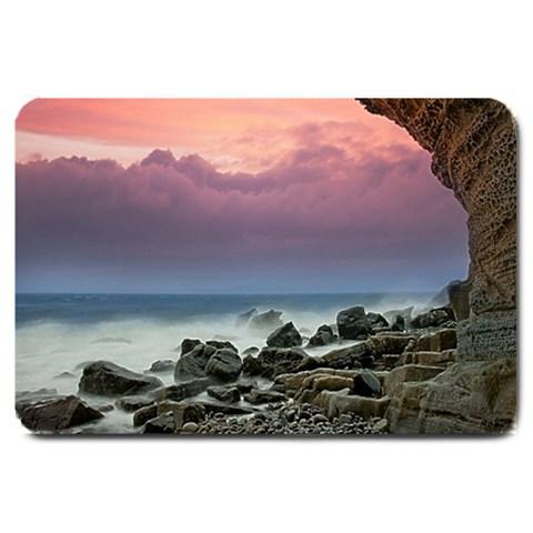 Seaside Cave Doormat Matching Set  : Set Matching  Doormat Template s Product By Pamela Sue Goforth   Large Doormat   Uim2zp27w2vz   Www Artscow Com 30 x20 Door Mat - 1