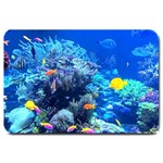 TROPICAL UNDER SEA DOORMAT MATCHING SET  : Set Matching  Doormat Template s Product - Large Doormat