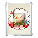 xmas - Apple iPad 3/4 Case (White)