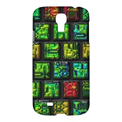 Colorful Buttons               samsung Galaxy S4 I9500/i9505 Hardshell Case by LalyLauraFLM