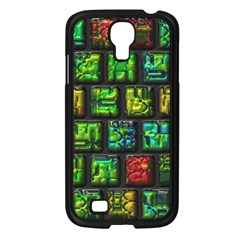 Colorful Buttons               samsung Galaxy S4 I9500/ I9505 Case (black) by LalyLauraFLM