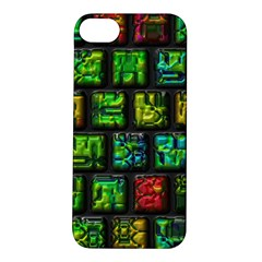 Colorful Buttons               			apple Iphone 5s Hardshell Case by LalyLauraFLM