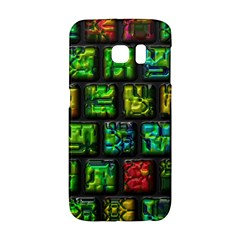 Colorful Buttons               samsung Galaxy S6 Edge Hardshell Case by LalyLauraFLM