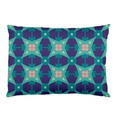 Blue Stars Pattern                  			pillow Case by LalyLauraFLM