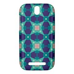 Blue stars pattern                  HTC One SV Hardshell Case by LalyLauraFLM