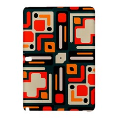 Shapes In Retro Colors Texture                   samsung Galaxy Tab Pro 12 2 Hardshell Case by LalyLauraFLM