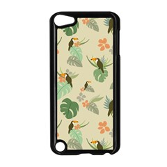 Tropical Garden Pattern Apple Ipod Touch 5 Case (black) by TastefulDesigns