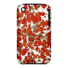 Vivid Floral Collage Apple Iphone 3g/3gs Hardshell Case (pc+silicone) by dflcprints