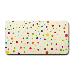 Colorful Dots Pattern Medium Bar Mats by TastefulDesigns