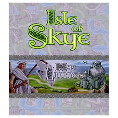 Isle Of Skye   Player White By Philipp Wolter   Drawstring Pouch (medium)   Tga6o3i2o0pk   Www Artscow Com Front