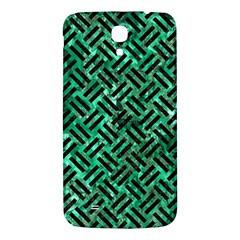 Woven2 Black Marble & Green Marble (r) Samsung Galaxy Mega I9200 Hardshell Back Case by trendistuff