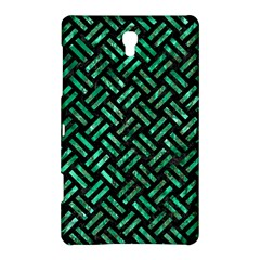 Woven2 Black Marble & Green Marble Samsung Galaxy Tab S (8 4 ) Hardshell Case  by trendistuff