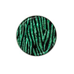 SKN4 BK-GR MARBLE (R) Hat Clip Ball Marker (10 pack) by trendistuff