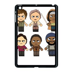 The Walking Dead   Main Characters Chibi   Amc Walking Dead   Manga Dead Apple Ipad Mini Case (black) by PTsImaginarium