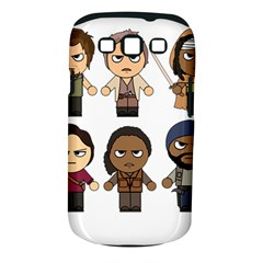The Walking Dead   Main Characters Chibi   Amc Walking Dead   Manga Dead Samsung Galaxy S Iii Classic Hardshell Case (pc+silicone) by PTsImaginarium