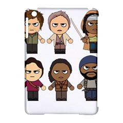 The Walking Dead   Main Characters Chibi   Amc Walking Dead   Manga Dead Apple Ipad Mini Hardshell Case (compatible With Smart Cover) by PTsImaginarium