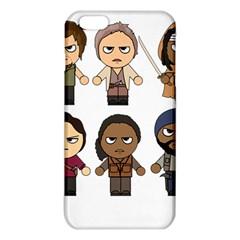 The Walking Dead   Main Characters Chibi   Amc Walking Dead   Manga Dead Iphone 6 Plus/6s Plus Tpu Case by PTsImaginarium