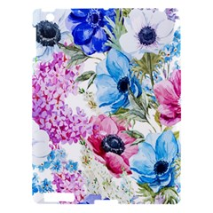 Watercolor spring flowers Apple iPad 3/4 Hardshell Case by TastefulDesigns