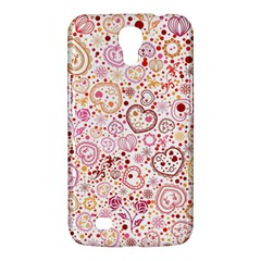 Ornamental Pattern With Hearts And Flowers  Samsung Galaxy Mega 6 3  I9200 Hardshell Case by TastefulDesigns