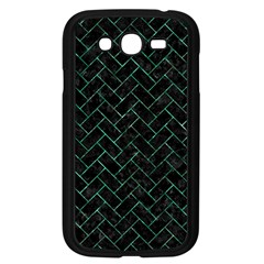 Brick2 Black Marble & Green Marble Samsung Galaxy Grand Duos I9082 Case (black) by trendistuff