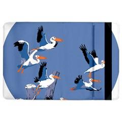 Abstract Pelicans Seascape Tropical Pop Art Ipad Air 2 Flip by WaltCurleeArt