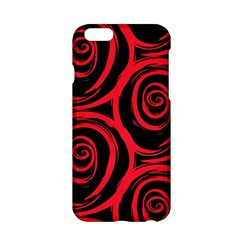 Abtract  Red Roses Pattern Apple Iphone 6/6s Hardshell Case by TastefulDesigns