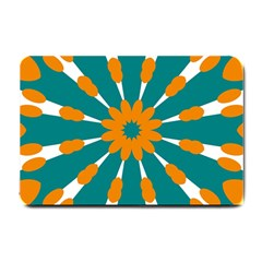 Tangerinerina Teliana Small Doormat  by CircusValleyMall