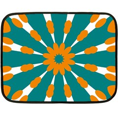 Tangerinerina Teliana Fleece Blanket (mini) by CircusValleyMall