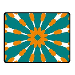 Tangerinerina Teliana Fleece Blanket (small) by CircusValleyMall