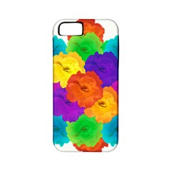Flowes Collage Ornament Apple Iphone 5 Classic Hardshell Case (pc+silicone) by dflcprints