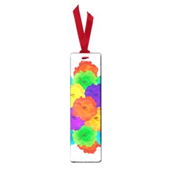 Flowes Collage Ornament Small Book Marks by dflcprints