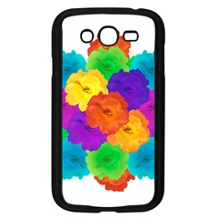 Flowes Collage Ornament Samsung Galaxy Grand Duos I9082 Case (black) by dflcprints