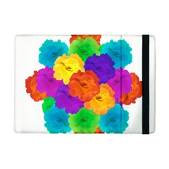 Flowes Collage Ornament iPad Mini 2 Flip Cases by dflcprints