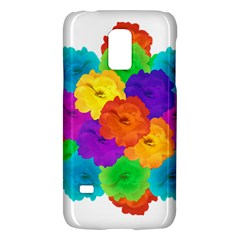 Flowes Collage Ornament Galaxy S5 Mini by dflcprints