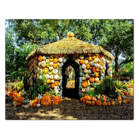 Harvest House Puzzle  :   Puzzle By Pamela Sue Goforth   Jigsaw Puzzle (rectangular)   Pkfavrqwwge0   Www Artscow Com Front