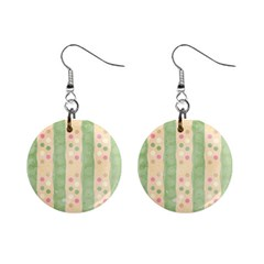 Seamless Colorful Dotted Pattern Mini Button Earrings by TastefulDesigns