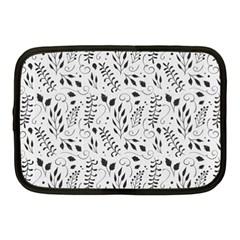 Hand Painted Floral Pattern Netbook Case (Medium)  by TastefulDesigns